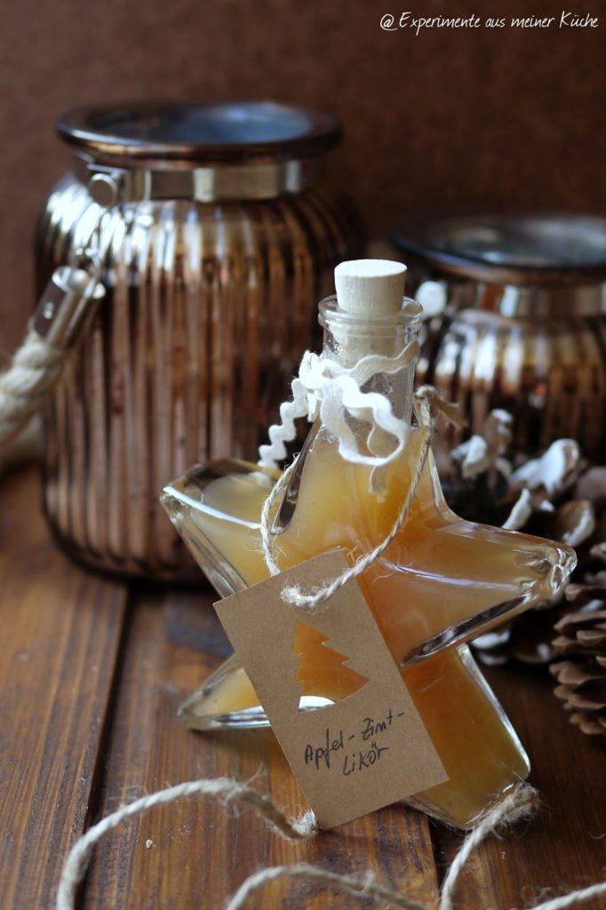 Experimente aus meiner Küche: Apfel-Zimt-Likör [Geschenke aus der Küche]