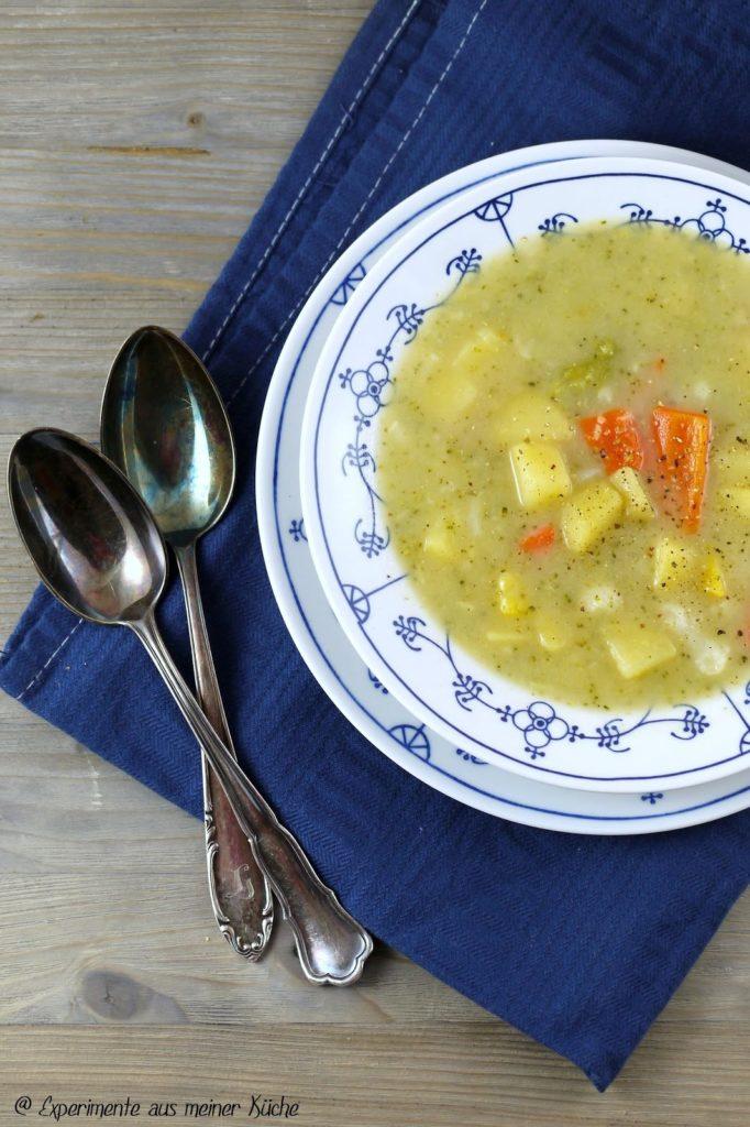 Experimente aus meiner Küche: Schneller Hühnereintopf mit Gemüse