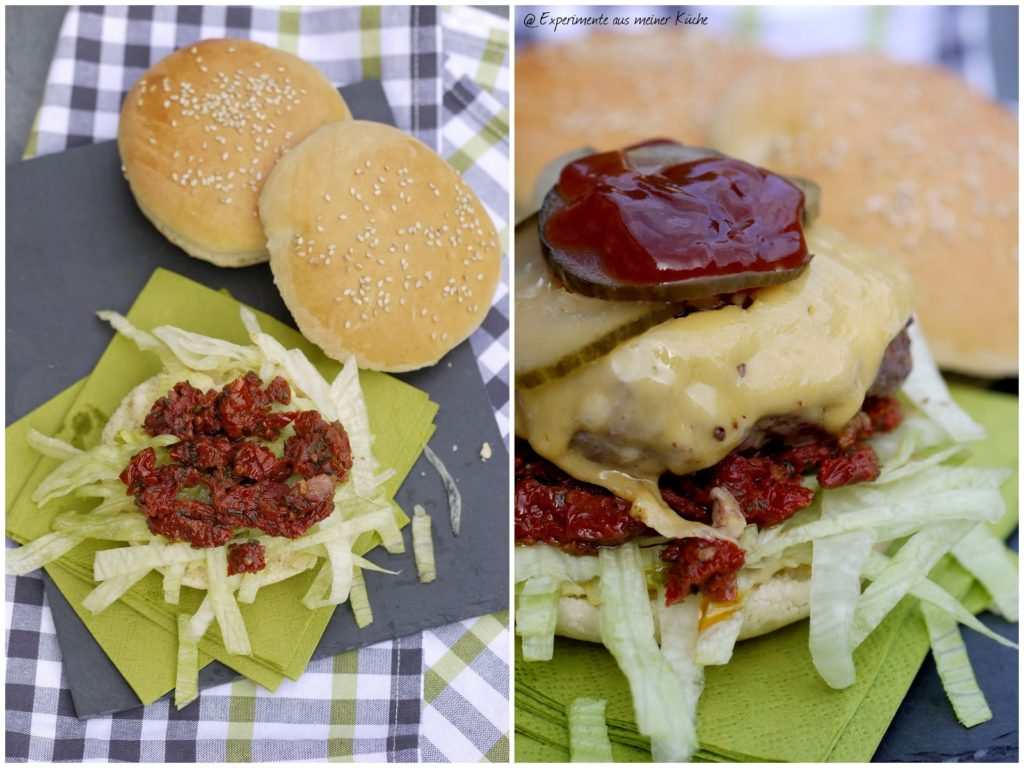 Experimente aus meiner Küche: Mediterrane Burger {Burger Time}