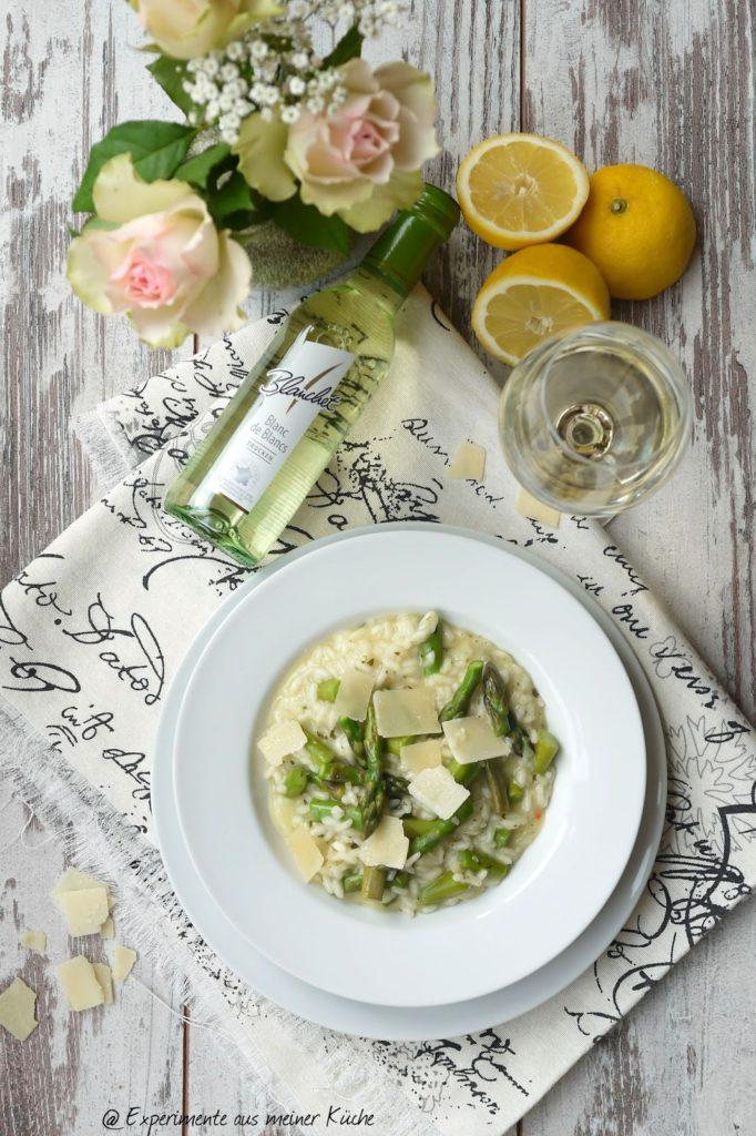 Experimente aus meiner Küche: Spargel-Risotto