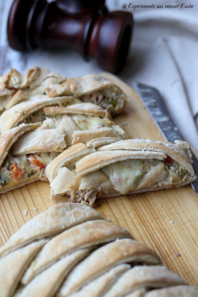 Experimente aus meiner Küche: Stromboli mit Thunfischfüllung