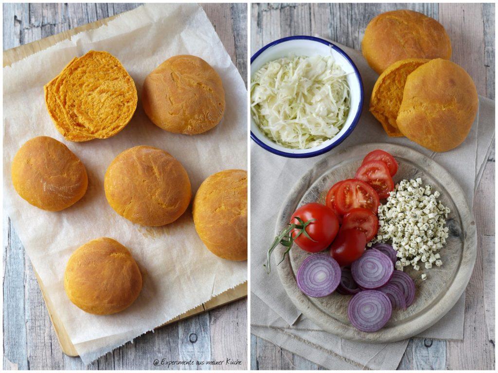 Experimente aus meiner Küche: Veggie-Burger nach griechischer Art