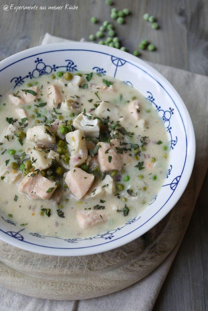 Experimente aus meiner Küche: Fischragout in Zitronensoße
