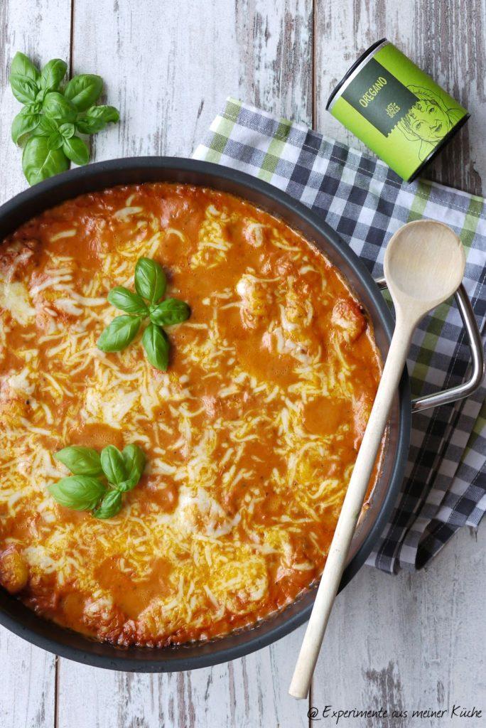 Experimente aus meiner Küche: Gnocchi-Thunfisch-Auflauf