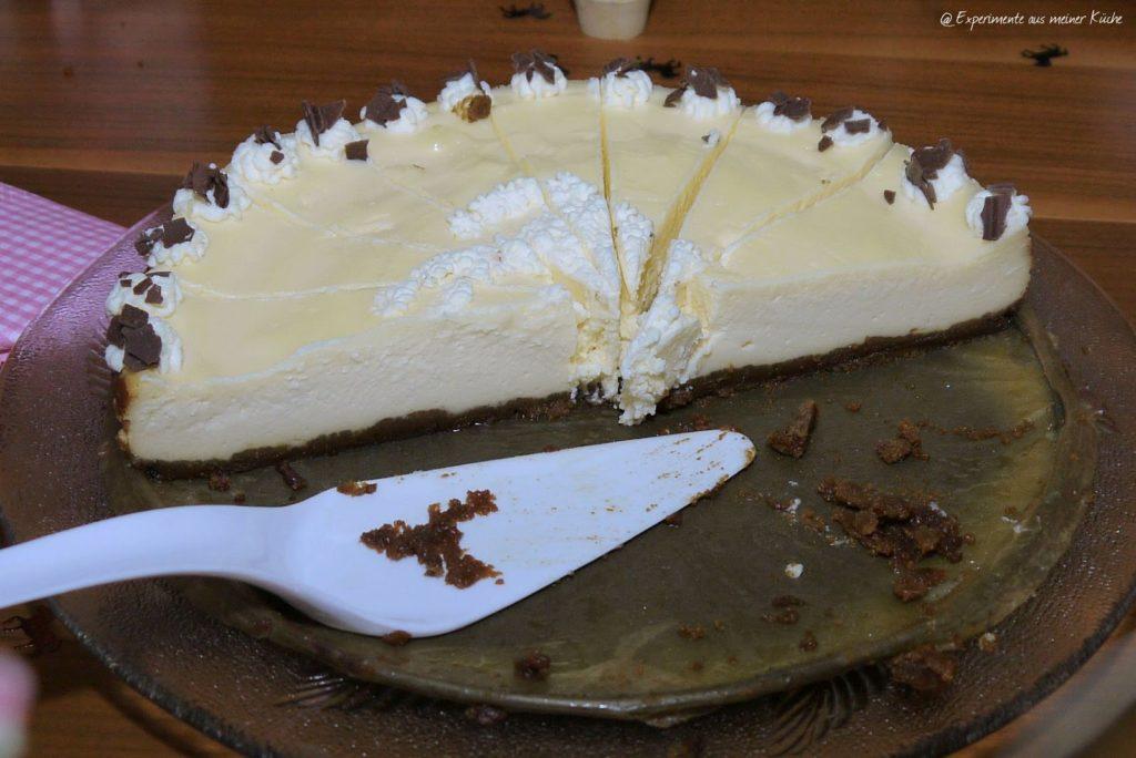 Experimente aus meiner Küche: Cremiger New York Cheesecake