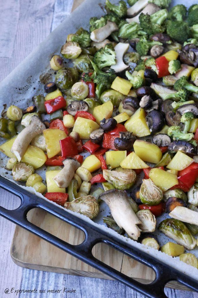 Experimente aus meiner Küche: Buntes Ofengemüse