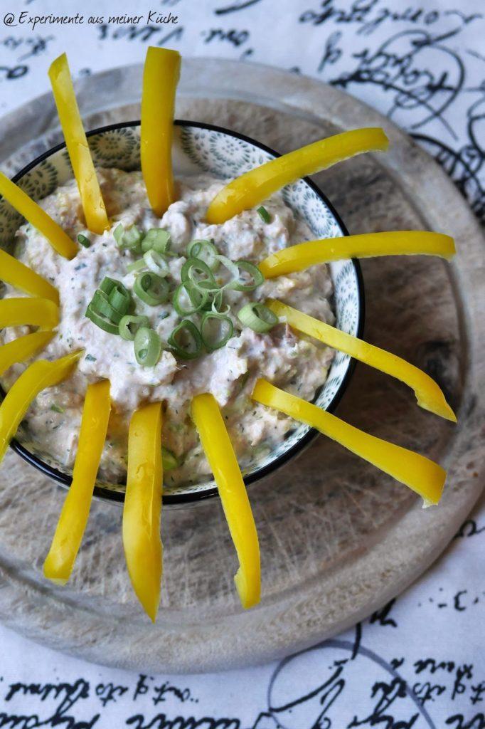 Experimente aus meiner Küche: Thunfisch-Paprika-Dip