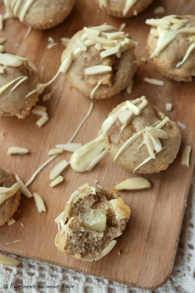 Experimente aus meiner Küche: Birnen-Zimt-Häppchen