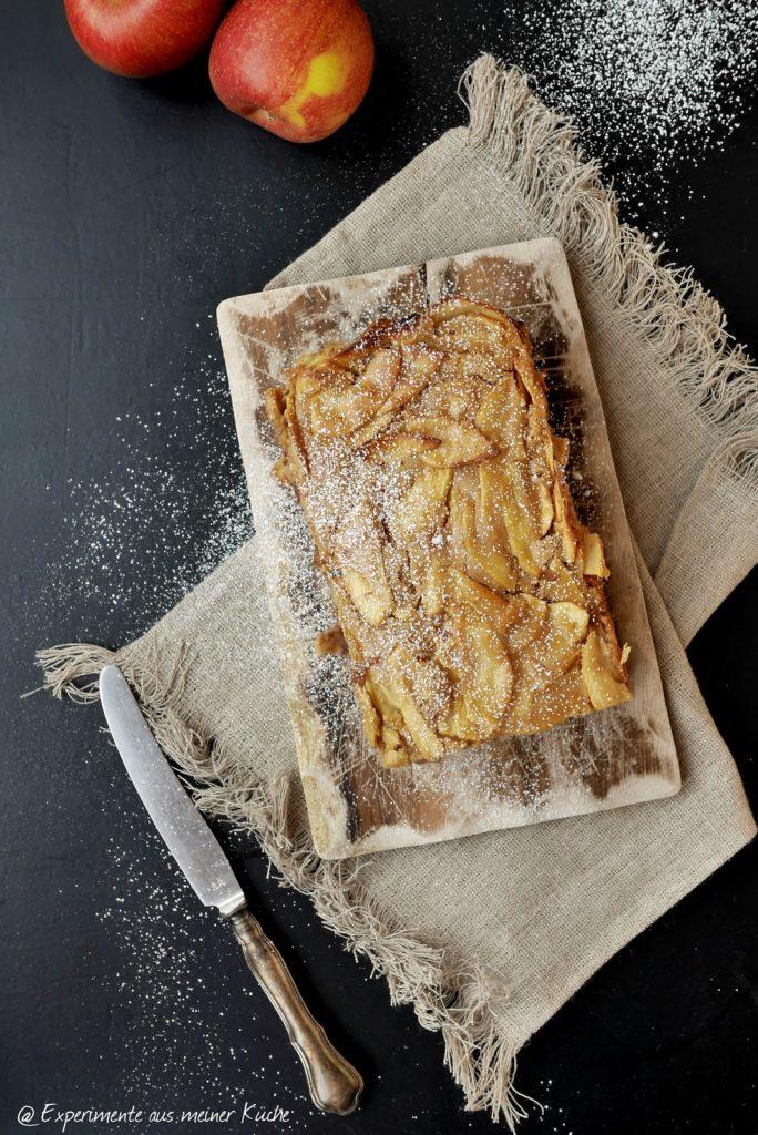 Experimente aus meiner Küche: Apfel-Schoko-Karamell-Kuchen