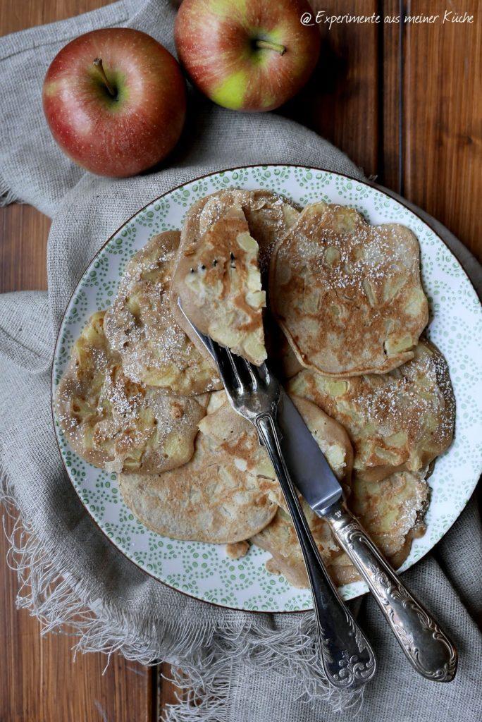 Experimente aus meiner Küche: Apfelküchlein
