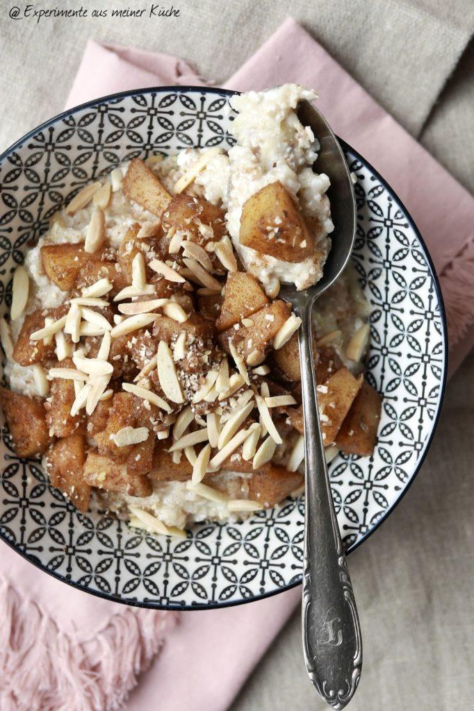 Experimente aus meiner Küche: Apfelkuchen-Porridge