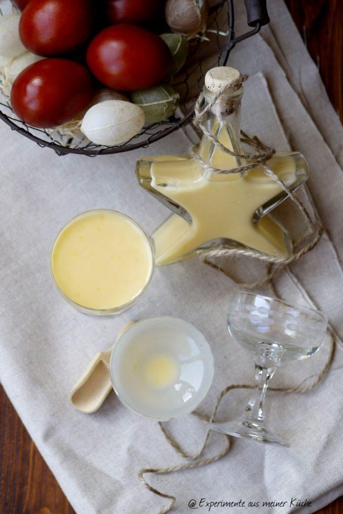 Experimente aus meiner Küche: Selbstgemachter Eierlikör