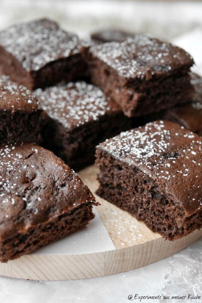 Experimente aus meiner Küche: Kalorienarme Brownies