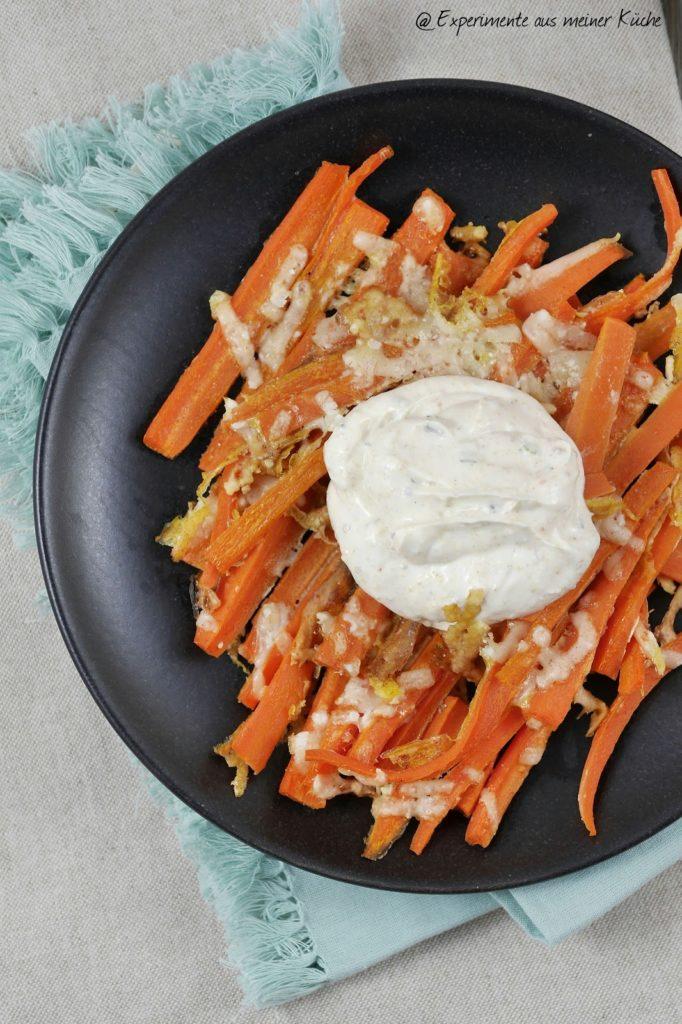 Experimente aus meiner Küche: Möhrensticks mit Parmesan