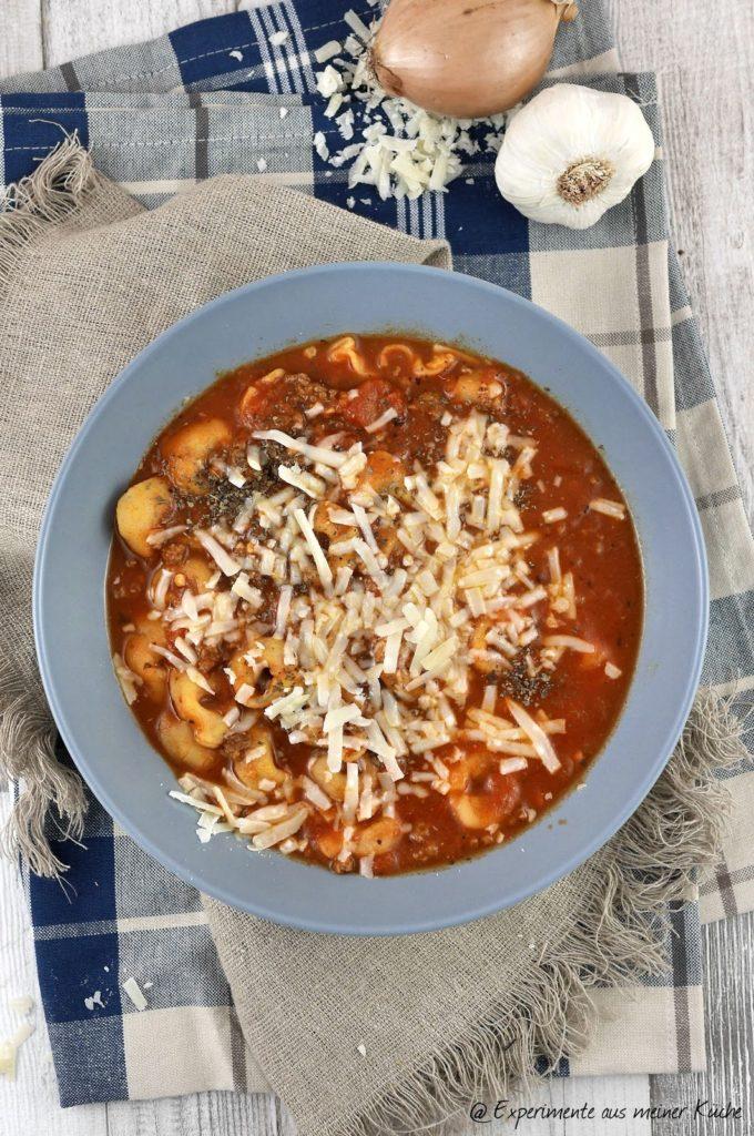Experimente aus meiner Küche: Tortellini-Suppe