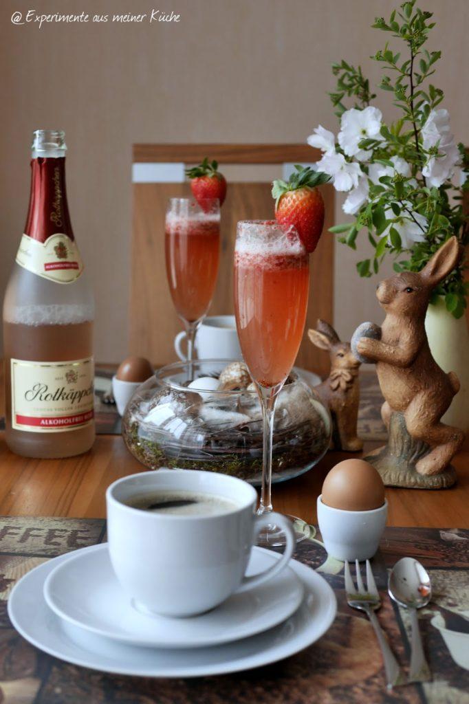 Experimente aus meiner Küche: Alkoholfreie Ostercocktails mit Rotkäppchen