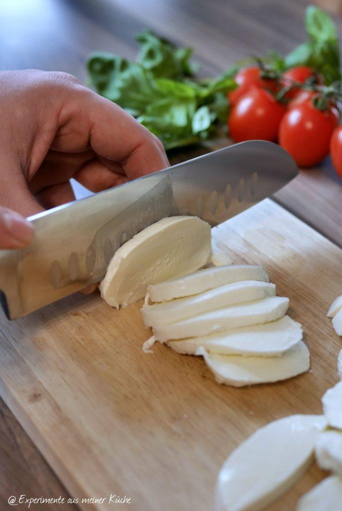 Experimente aus meiner Küche: Hähnchenfächer Caprese und meine Erfahrungen mit HEISO
