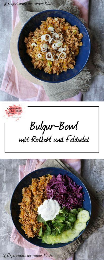 Bulgur-Bowl mit Rotkohl   Bulgursalat   Rezept   Essen   Kochen