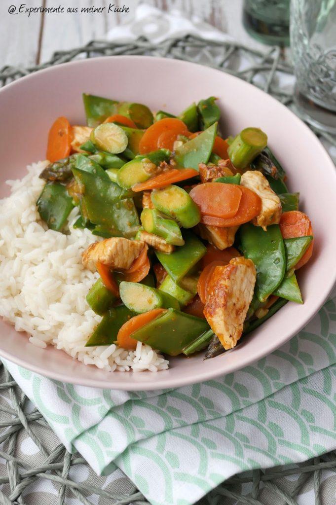 Asiatische Spargelpfanne   Essen   Kochen   Rezept