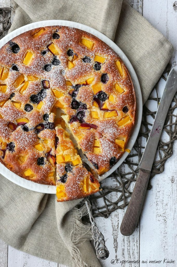 Blaubeer-Mango-Tarte | Kuchen | Backen | Rezept | Weight Watchers