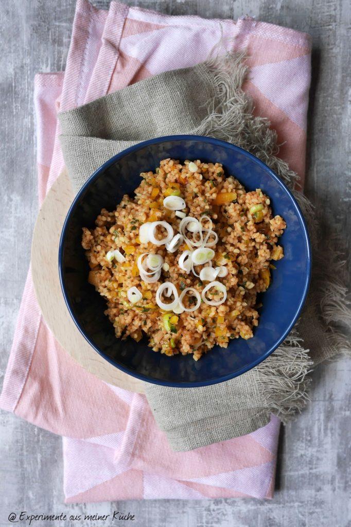 Bulgursalat | Rezept | Essen | Kochen | Grillbeilage