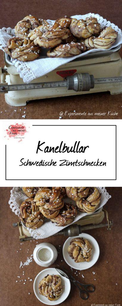 Kanelbullar - schwedische Zimtschnecken | Backen | Rezept | Hefeteig