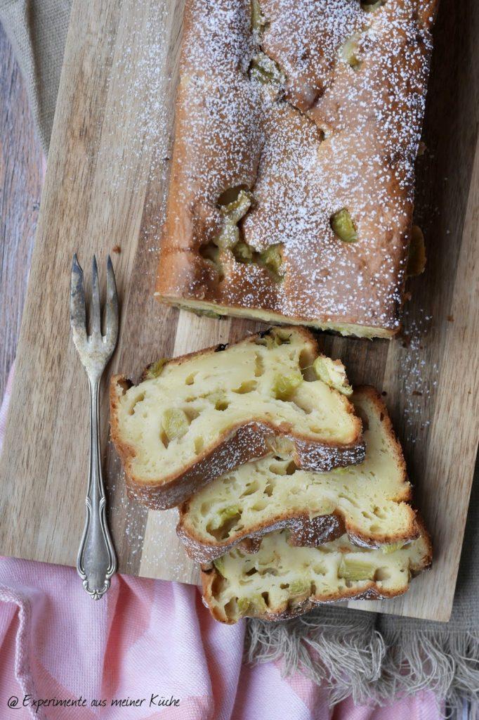 Experimente aus meiner Küche: Rhabarber-Mandel-Kuchen