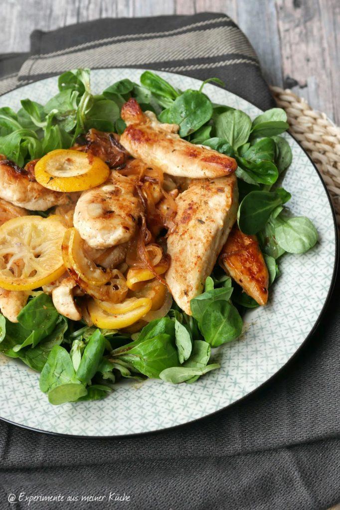 Zitronenhähnchen aus dem Ofen   Kochen   Rezepte