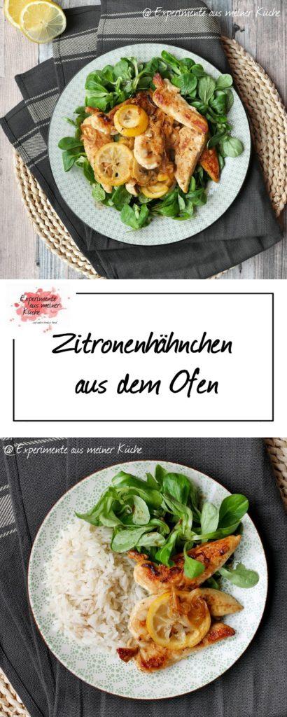 Zitronenhähnchen aus dem Ofen | Kochen | Rezepte