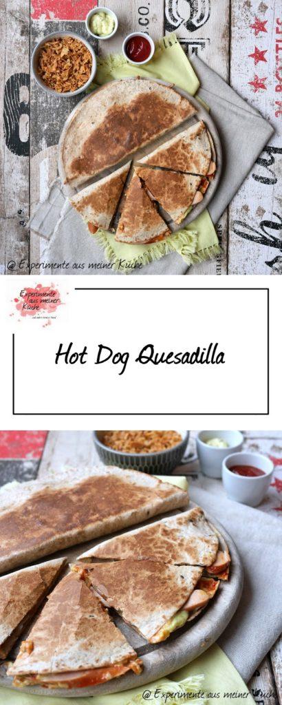 Hot Dog Quesadilla | Rezept | Essen | Kochen