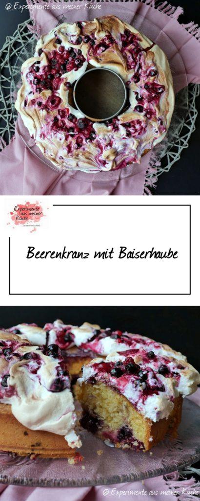 Beerenkranz mit Baiserhaube   Backen   Kuchen