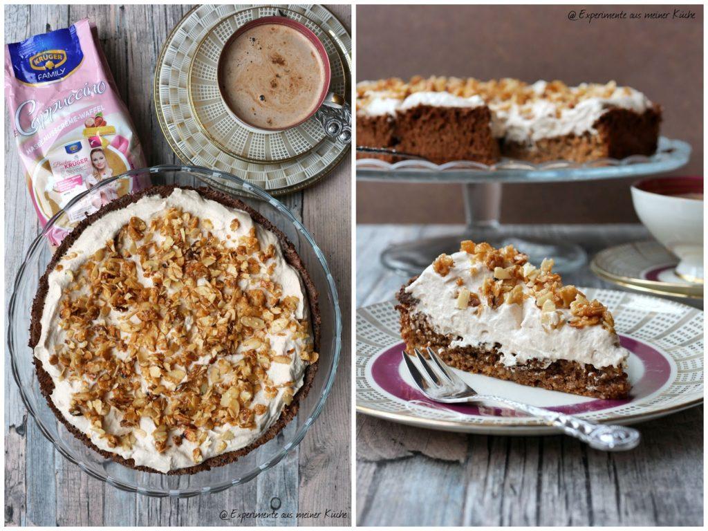 Cappuccino-Haselnusscreme-Torte | Kuchen | Backen | Rezept