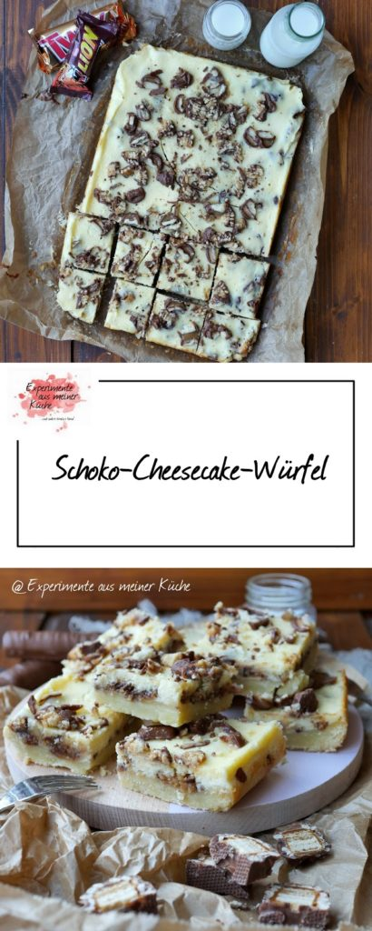 Schoko-Cheesecake-Würfel | Rezept | Backen