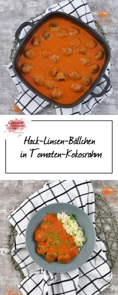 Hack-Linsen-Bällchen in Tomaten-Kokosrahm | Essen | Kochen | Rezept | Weight Watchers
