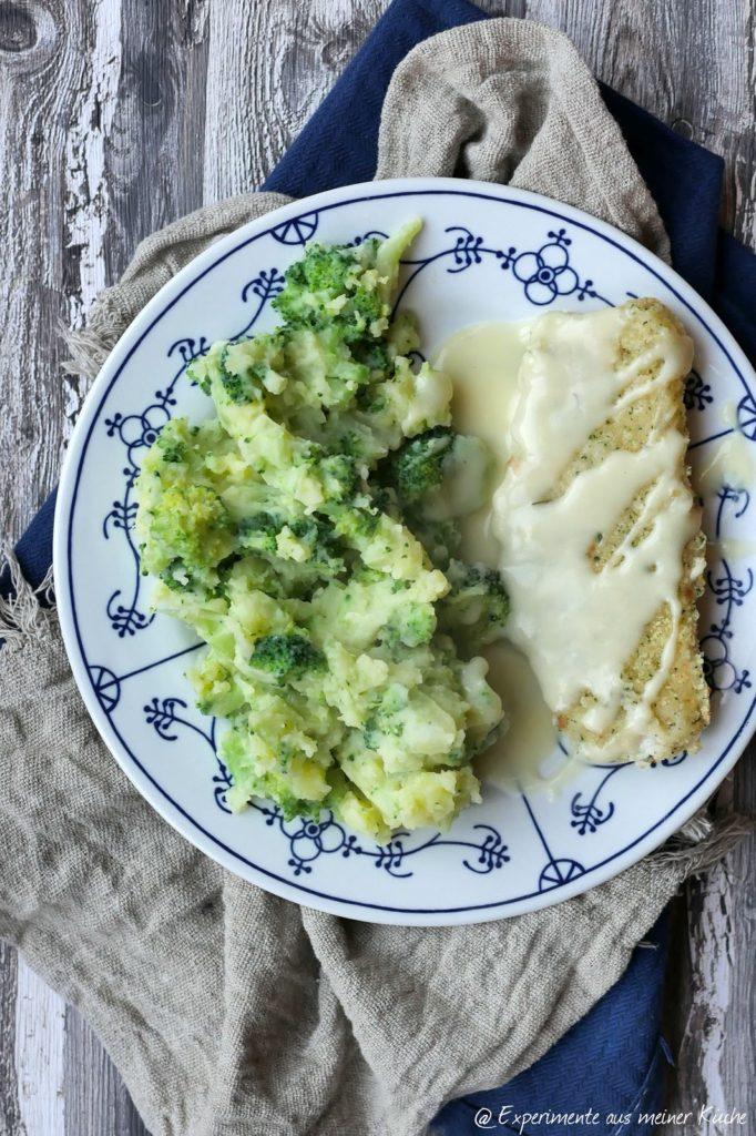Kartoffel-Brokkoli-Stampf mit Honig-Senf-Soße | Rezept | Kochen | Essen | Weight Watchers