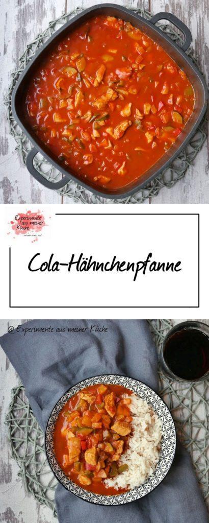 Cola-Hähnchenpfanne   Rezept   Essen   Kochen   Weight Watchers
