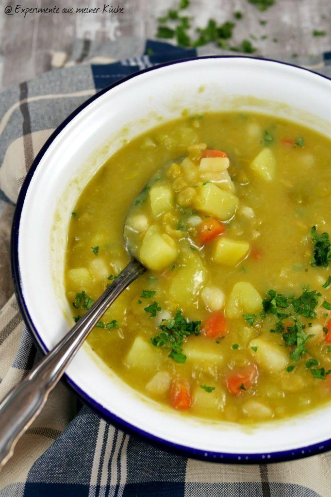 Erbsen-Kartoffel-Suppe   Rezept   Kochen   Weight Watchers