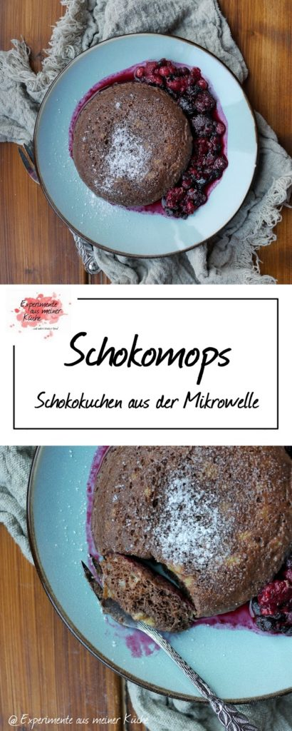 Schokomops - Kuchen aus der Mikrowelle | Rezept | Dessert | Weight Watchers