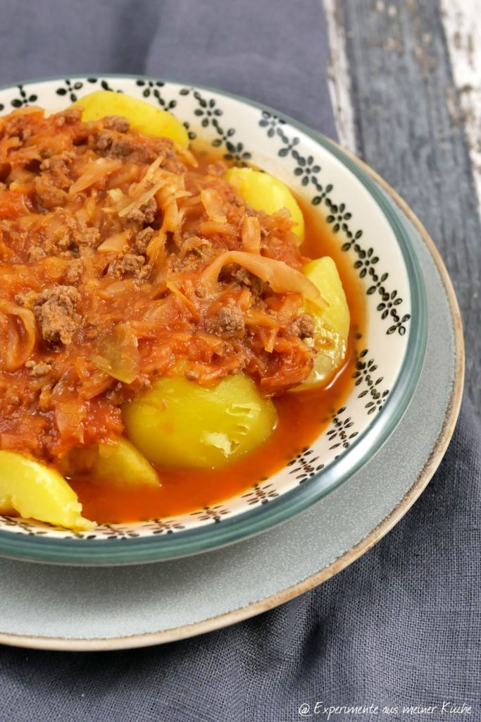 Deftiger Hack-Sauerkraut-Eintopf | Rezept | Kochen | Essen | Weight Watchers