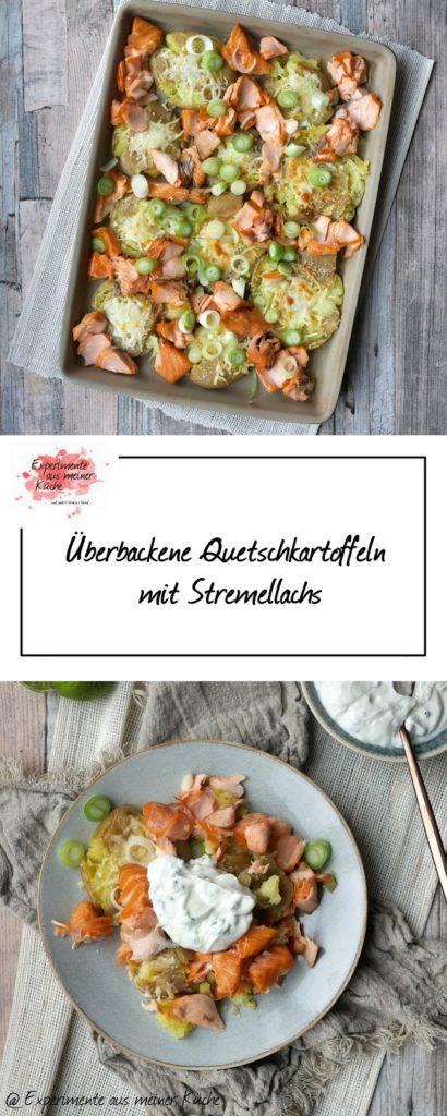 Überbackene Quetschkartoffeln mit Stremellachs | Rezept | Kochen | Essen | Weight Watchers