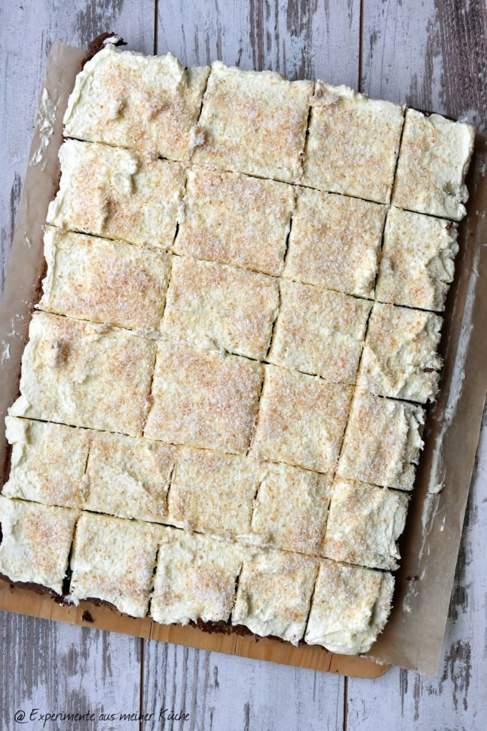 Kokos-Brownie | Kuchen | Rezept | Backen