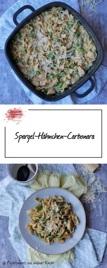 Spargel-Hähnchen-Carbonara | Rezept | Kochen | Essen