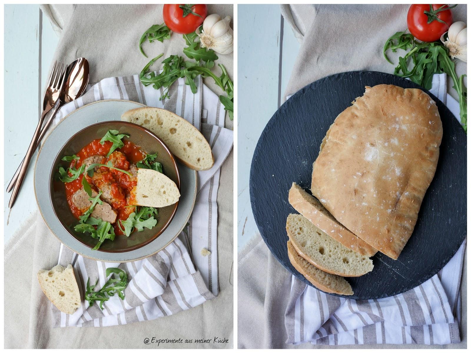 Hackbällchen mit Tomatensauce   Experimente aus meiner Küche