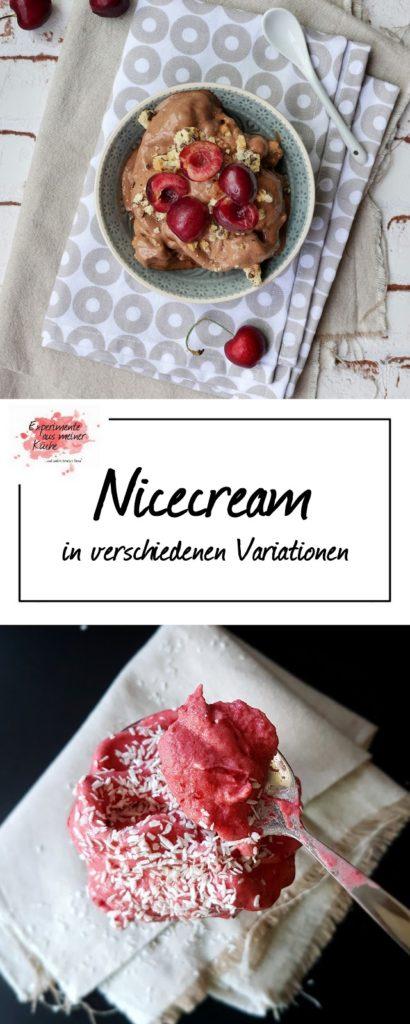 Cremiges Eis (ohne Eismaschine) | Rezept | Nicecream | Dessert | Weight Watchers