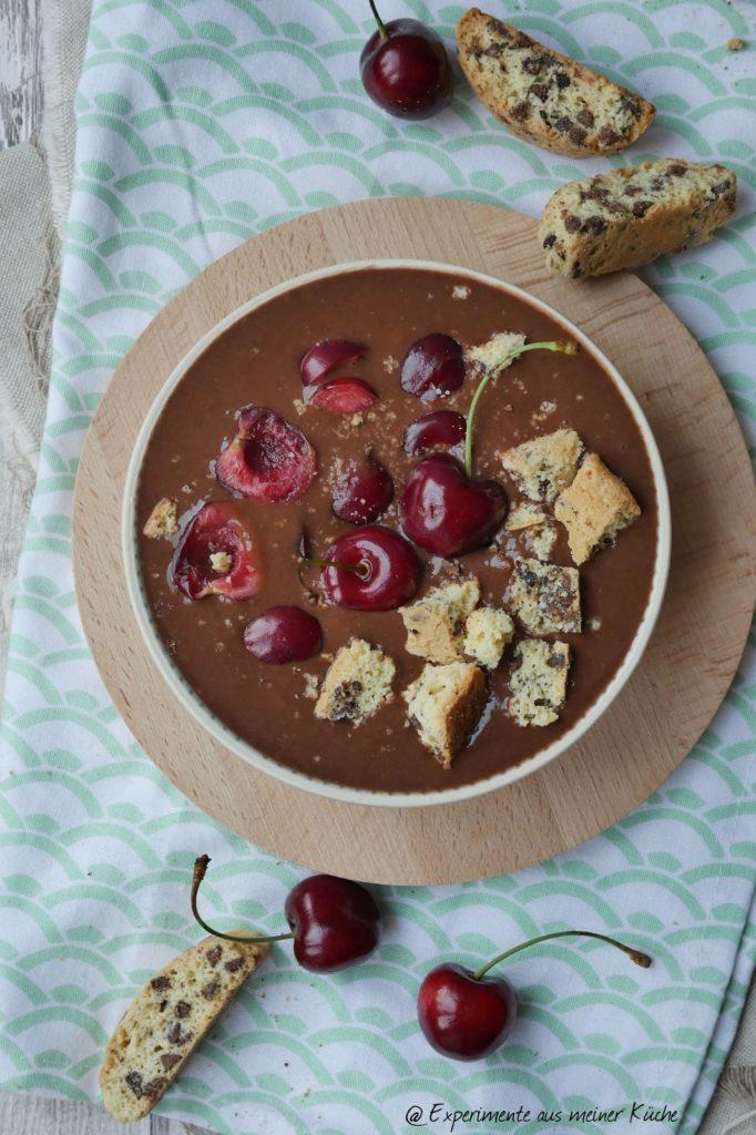 Cremiges Schokoladeneis (ohne Eismaschine) | Rezept | Nicecream | Dessert | Weight Watchers