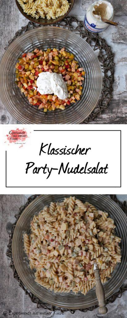 Klassischer Party-Nudelsalat | Rezept | Grillen | Essen