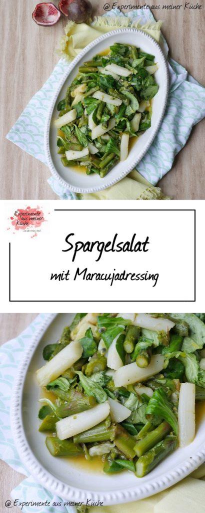 Spargelsalat mit Maracujadressing   Rezept   Essen   Weight Watchers