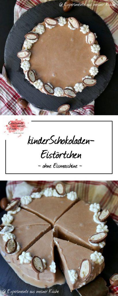 kinderSchokoladen-Eistörtchen | Rezept | Eis ohne Eismaschine | No Bake Torte | Dessert
