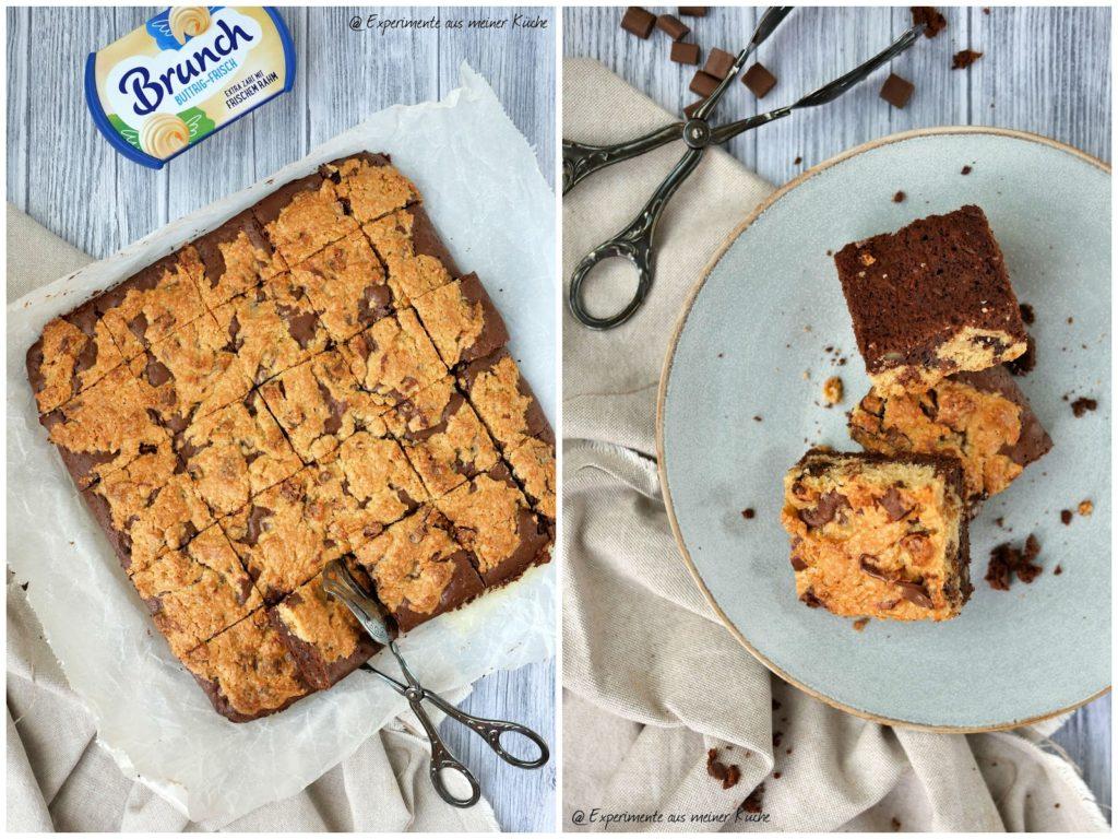 Brookie | Kuchen | Rezept | Backen | Brownie | Cookie