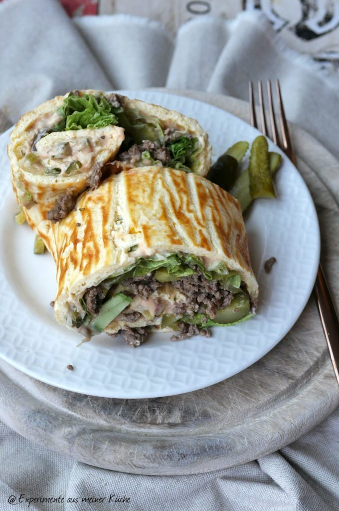 Low Carb Big Mac Rolle | Rezept | Kochen | Essen | Weight Watchers